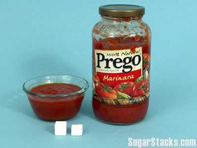 sugar in tomato sauce