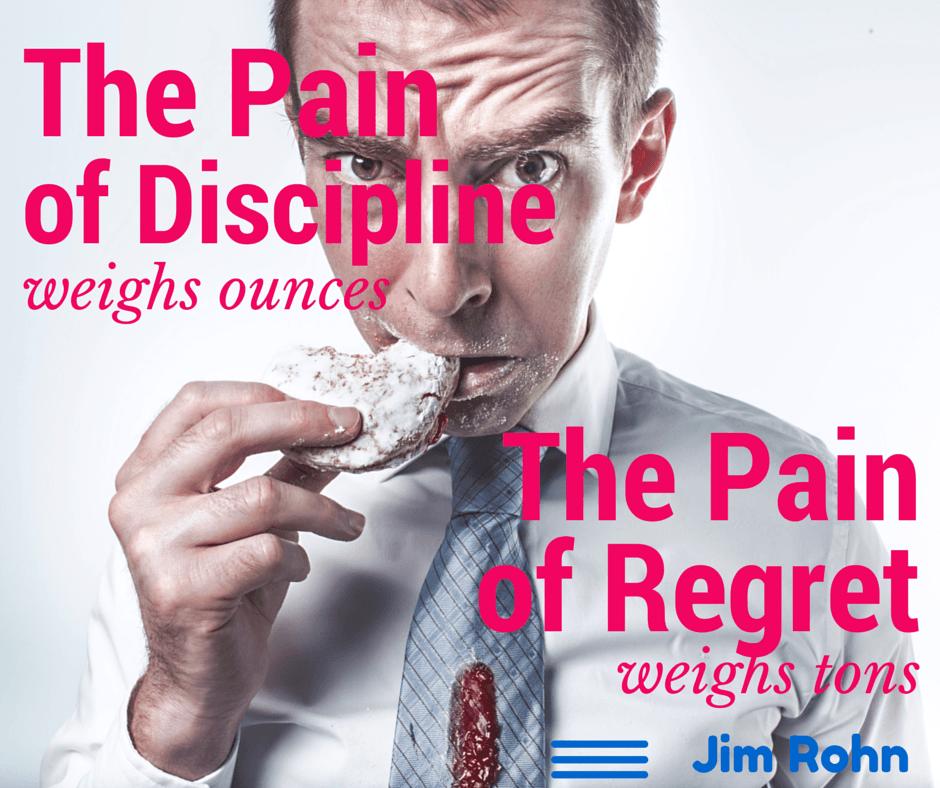 discipline health quote