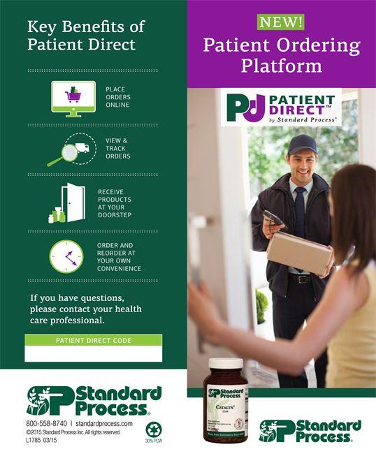 standard process patient direct program