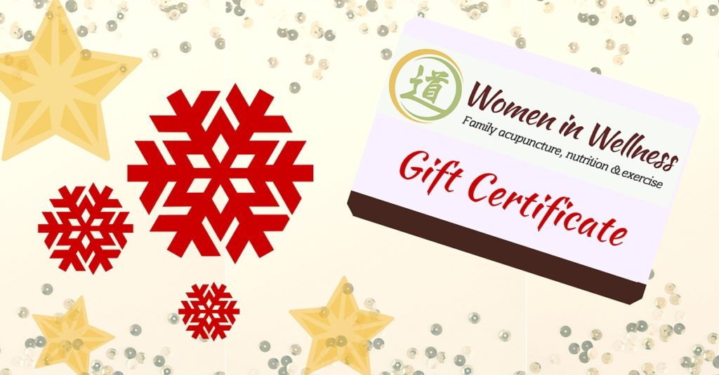 towson acupuncture gift certificate