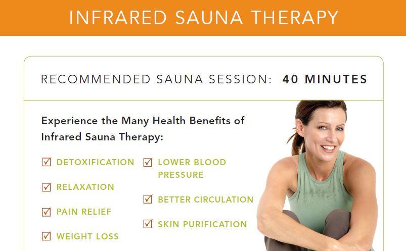 infrared sauna therapy benefits