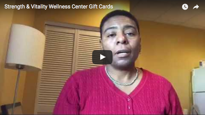 Holiday Gift Cards - Strength & Vitality Wellness Center