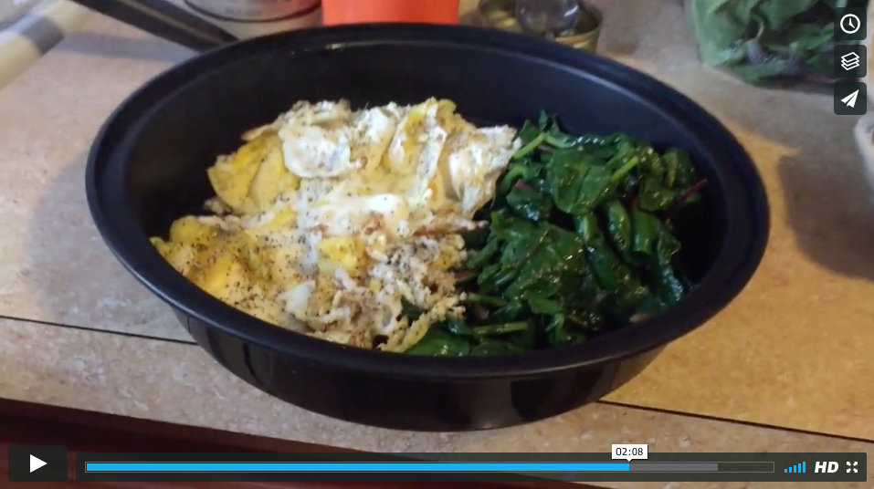Greens and Eggs to Go